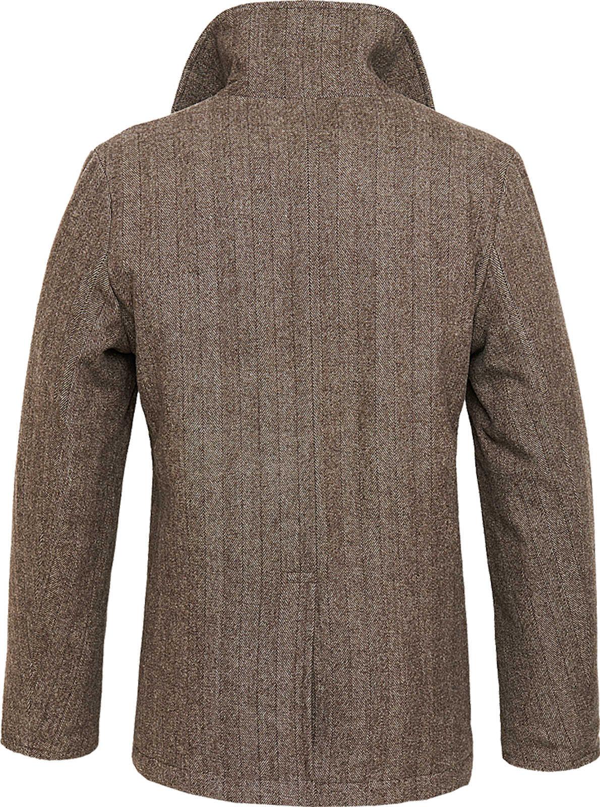 Brandit Uomo Pea Coat 3109 Marine Cappotto in lana inverno Giacca Caban Cappotto Corto