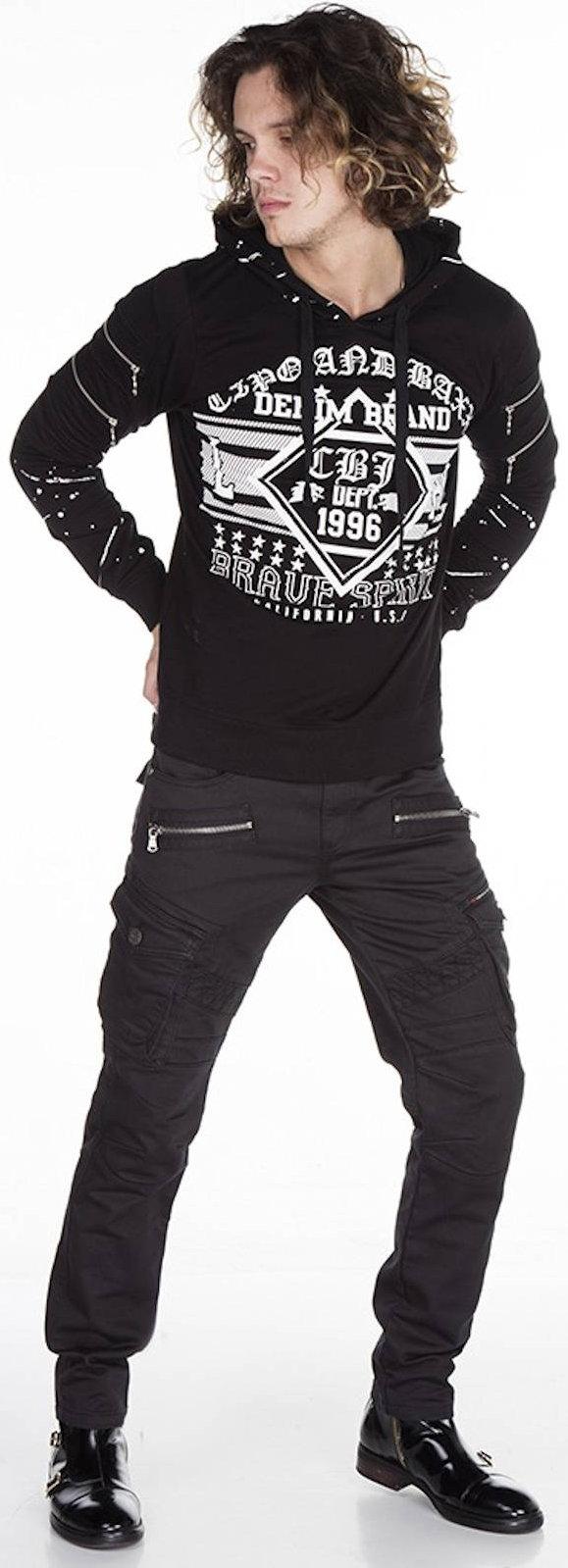 CIPO /& Baxx Hommes Jeans cd424 pantalon Straight cut regular précisément denim stretch