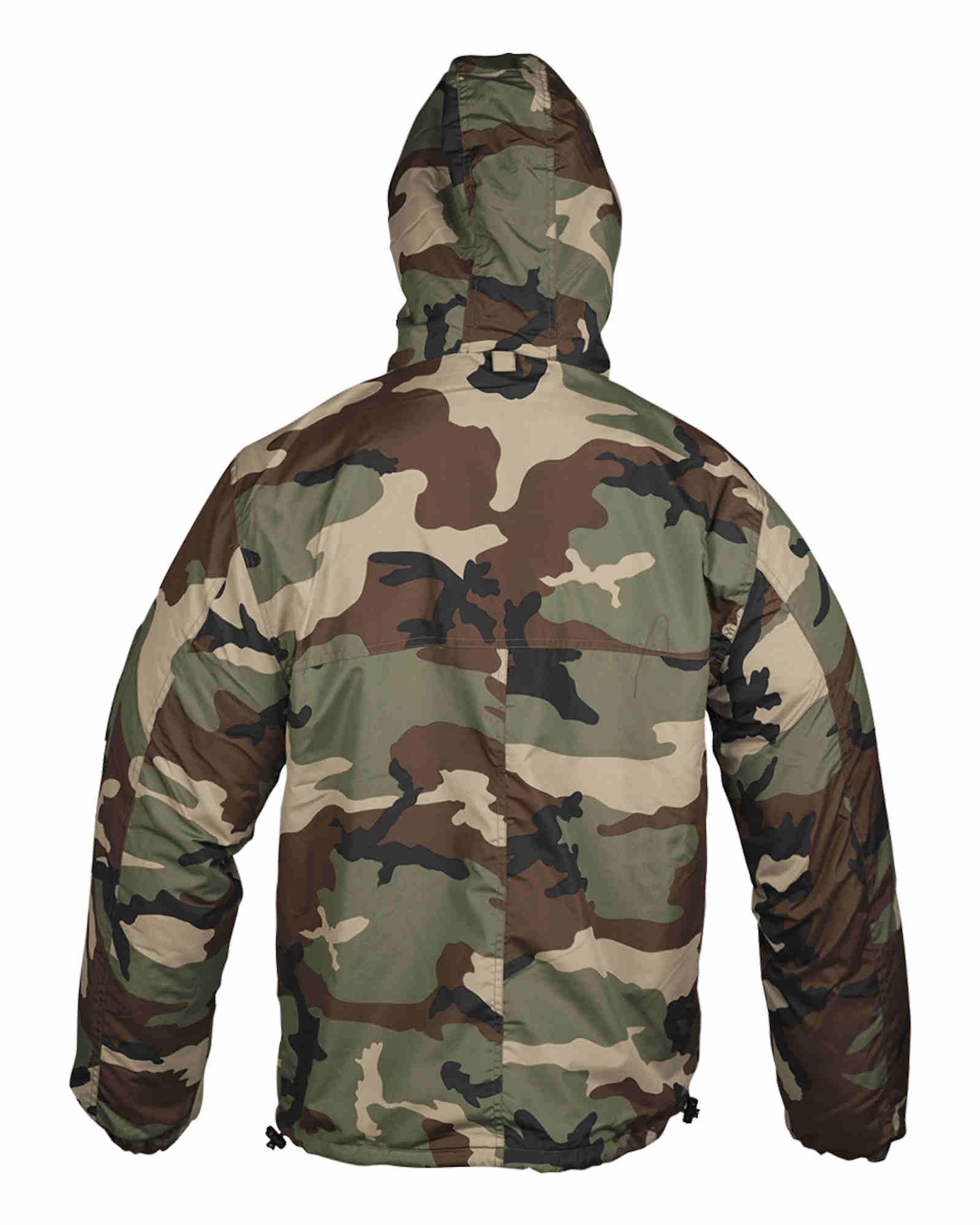 Mil-tec mil-tec Combat anorak invierno Woodland chaquetas de invierno