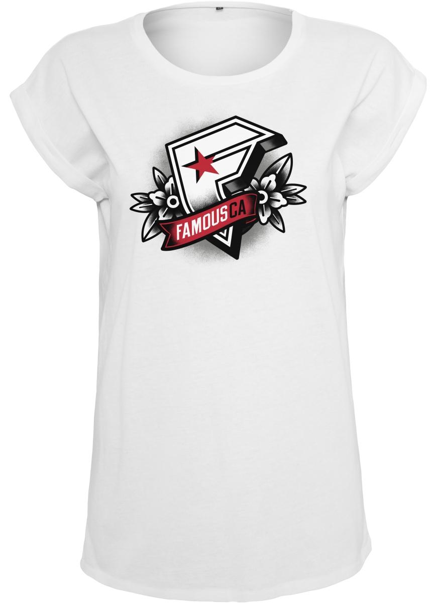 Famous Stars and Straps Damen T-Shirt Street Urban Tee Zone CA Buffalo Checker