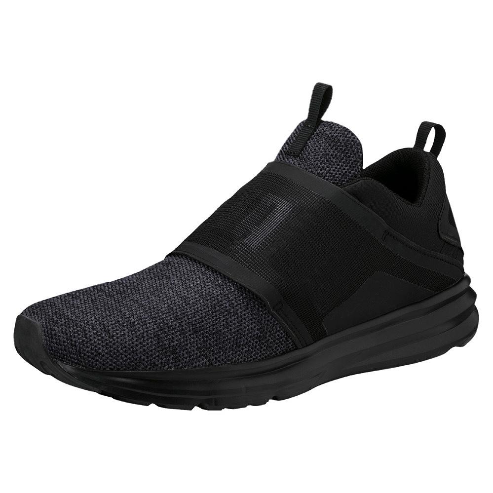 puma herren schuhe sneaker enzo strap knit stoff fitness sportschuhe 0190029 ebay. Black Bedroom Furniture Sets. Home Design Ideas