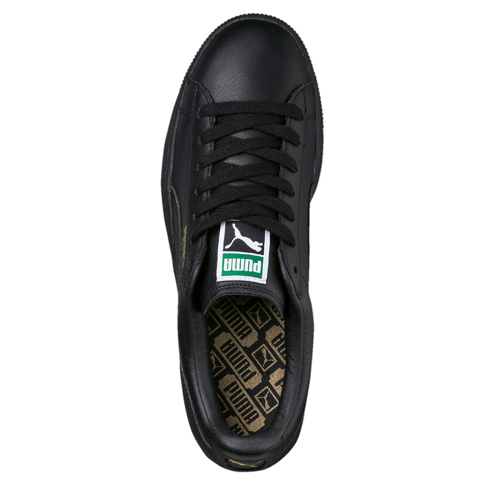 PUMA Schuhe Sneaker Basket Classics LFS Schwarz Gold 354367 Herren Schuhe 354367 Gold f802a6