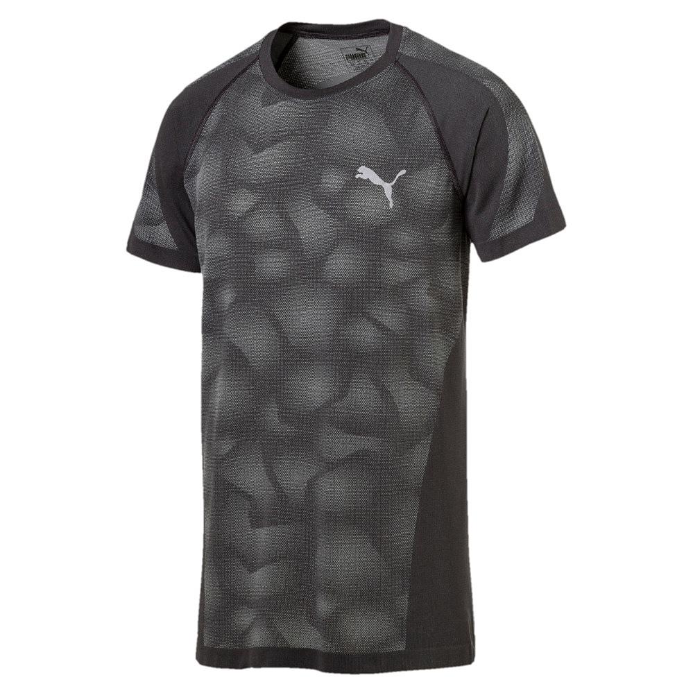 puma herren t shirt evoknit camo tee 0593531 593531 ebay. Black Bedroom Furniture Sets. Home Design Ideas