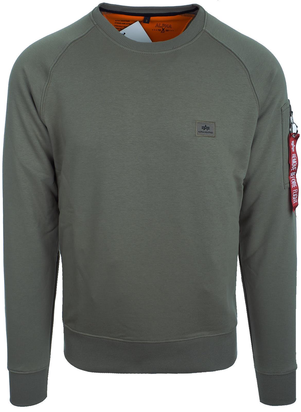 alpha industries herren sweatshirt pullover x fit sweat. Black Bedroom Furniture Sets. Home Design Ideas