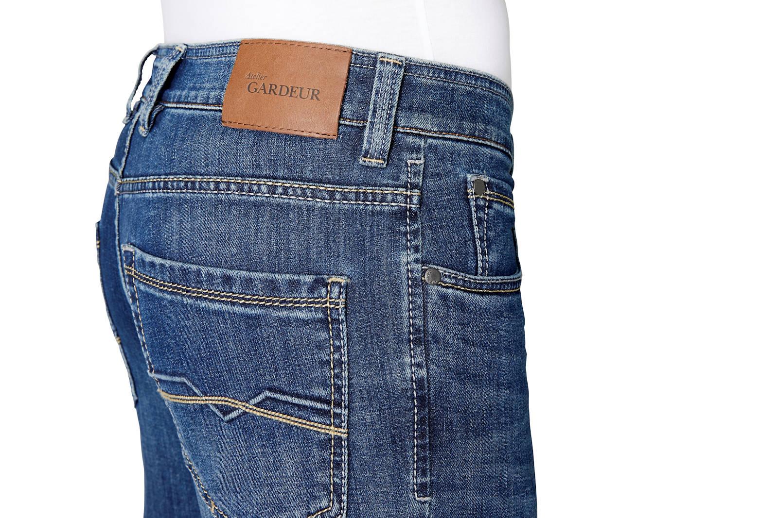 Atelier-GARDEUR-Jeans-BATU-2-Modern-Fit-Herren-Hose-Slim-Leg-Denim-NEU Indexbild 9