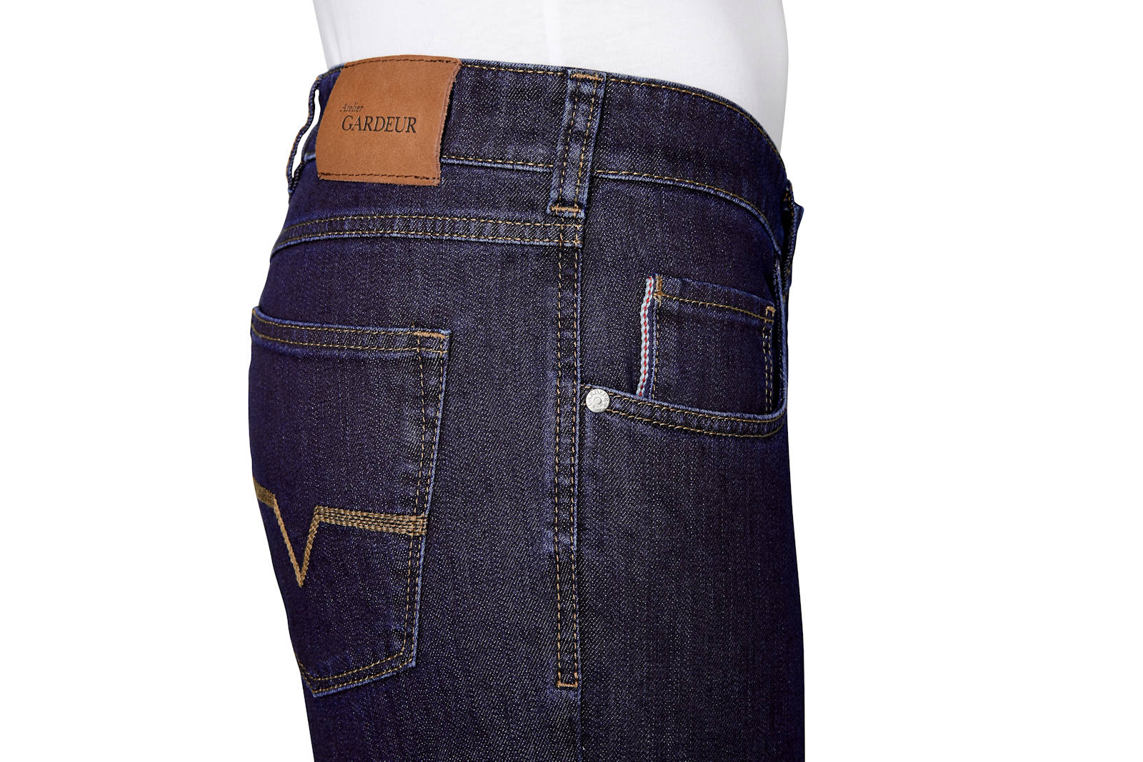 Atelier-GARDEUR-Jeans-NEVIO-11-Regular-Fit-Herren-Hose-Straight-Leg-Denim-NEU Indexbild 5