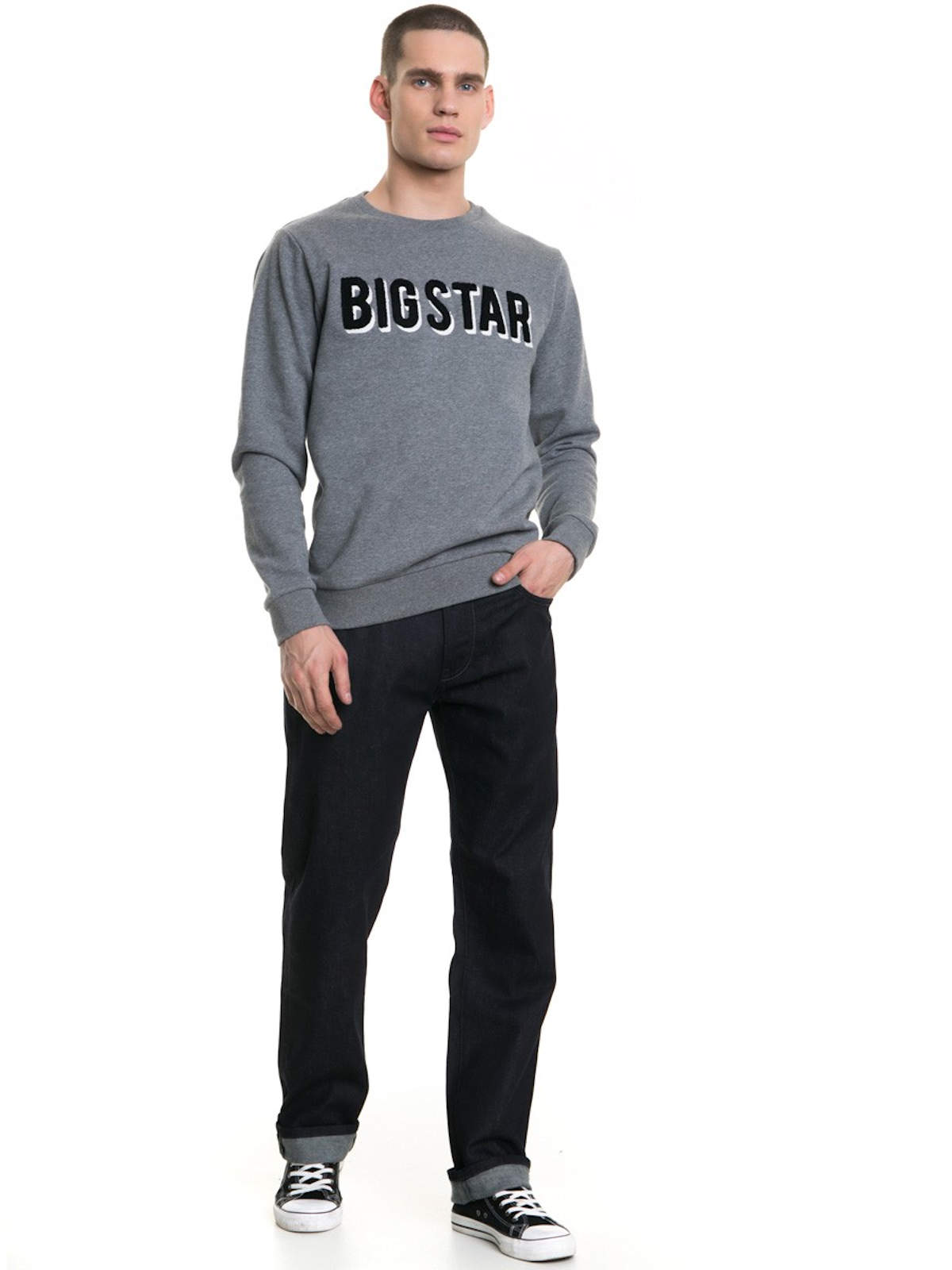 Big-Star-Jeans-Colt-497-Regular-Fit-Herren-Hose-Straight-Leg-Medium-Denim-NEU Indexbild 3