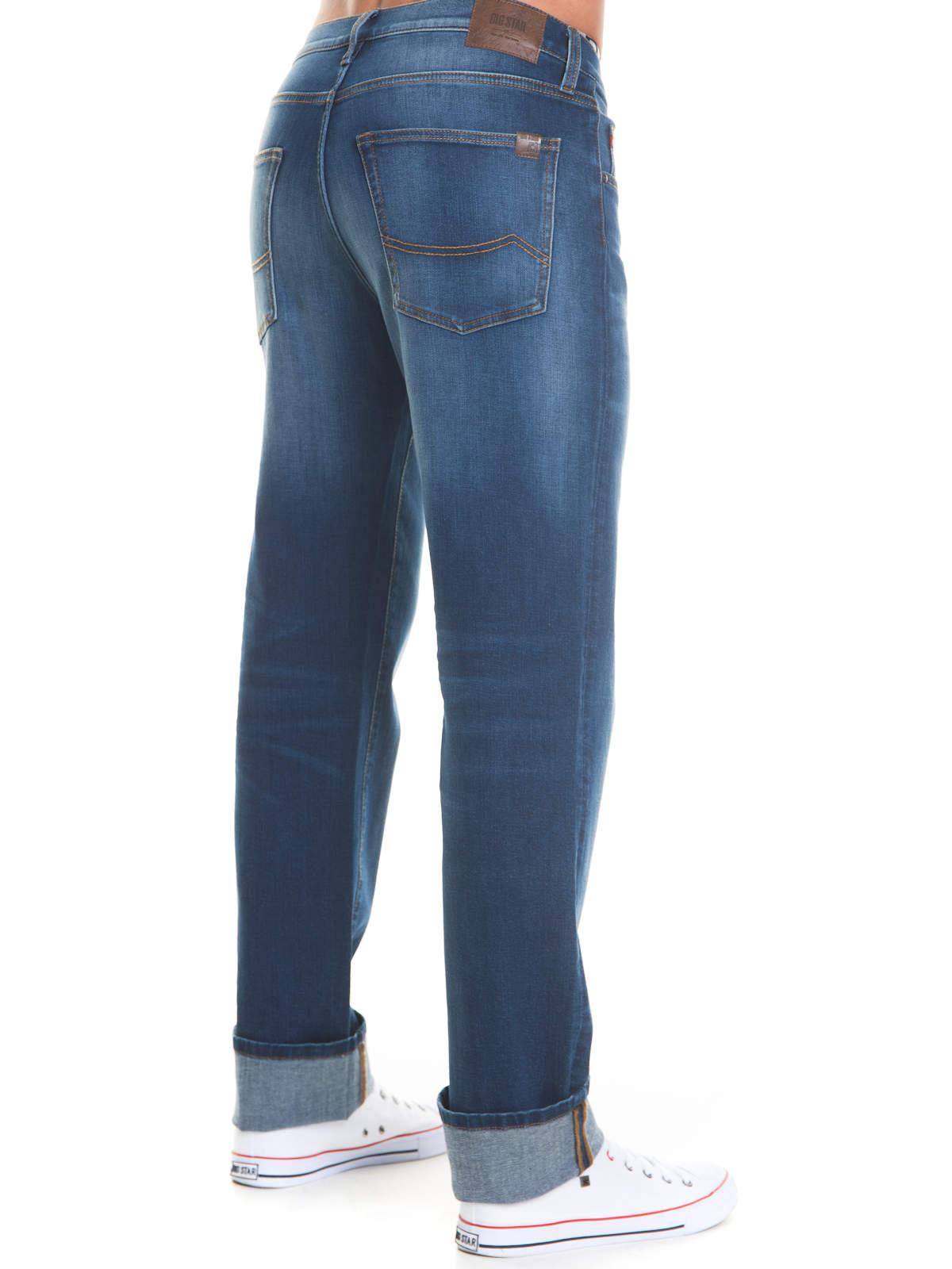 Big-Star-Jeans-Colt-497-Regular-Fit-Herren-Hose-Straight-Leg-Medium-Denim-NEU Indexbild 8