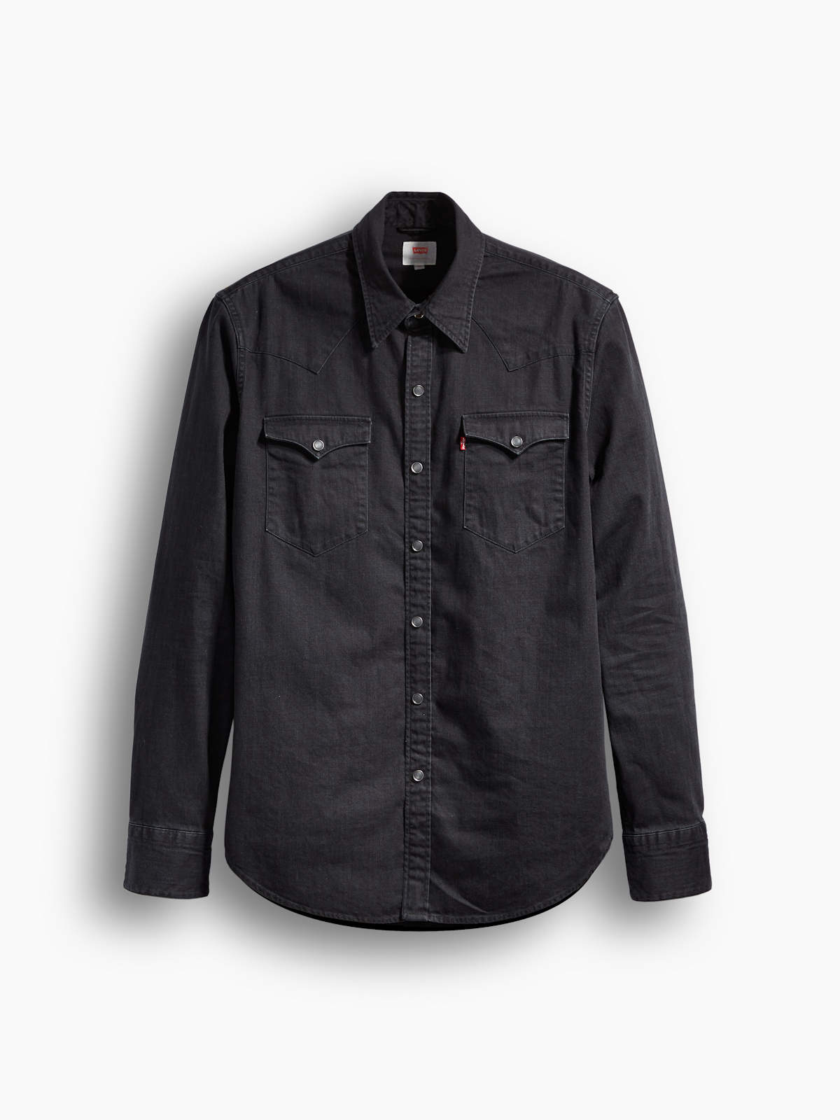 Denim Jeans Herren Hemd 0216 Western ® Barstow Black 65816 Levis xg1B0qw