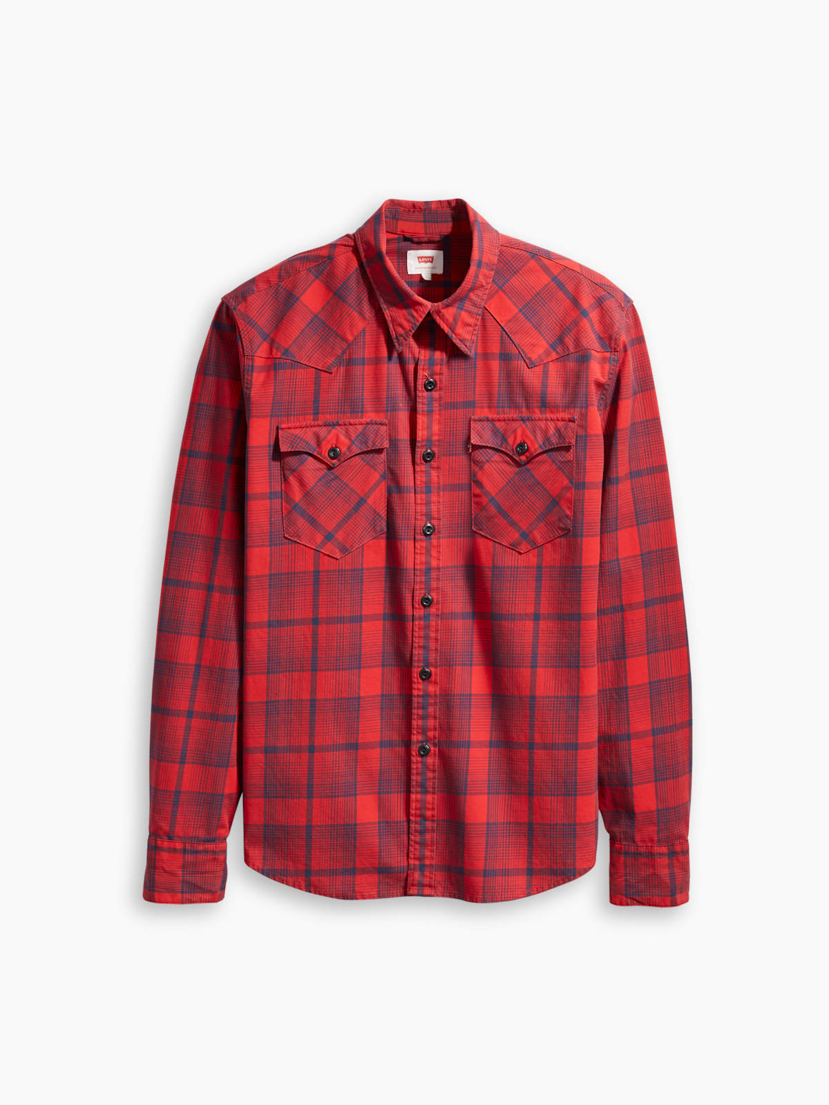 4cbc8b84 Levis ® Mens Shirt Barstow Western Nighthawk Chinese 65816-0257 | eBay