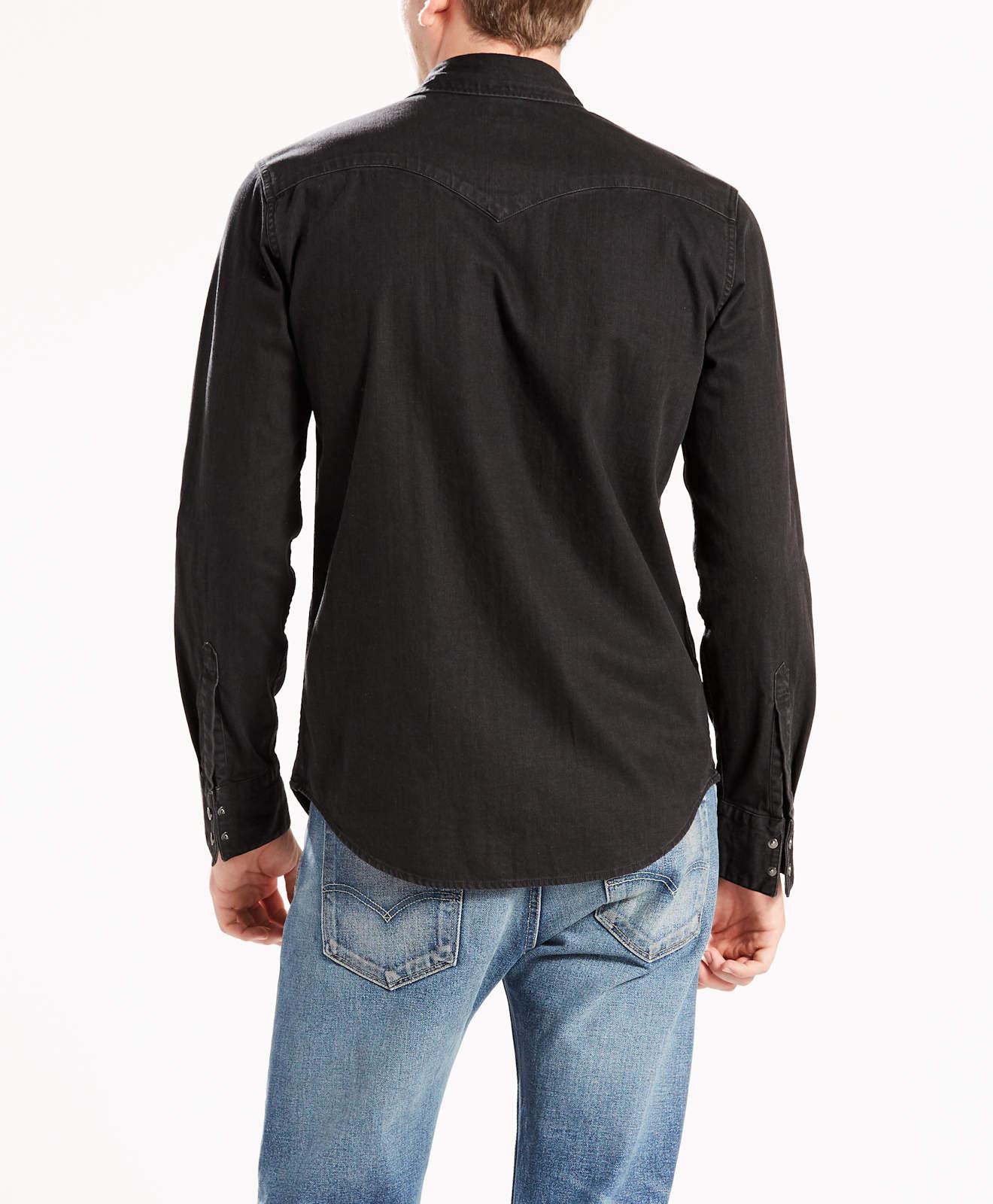 65816 Hemd Levis Western Black Herren Barstow 0216 ® Denim Jeans qPRw81ax