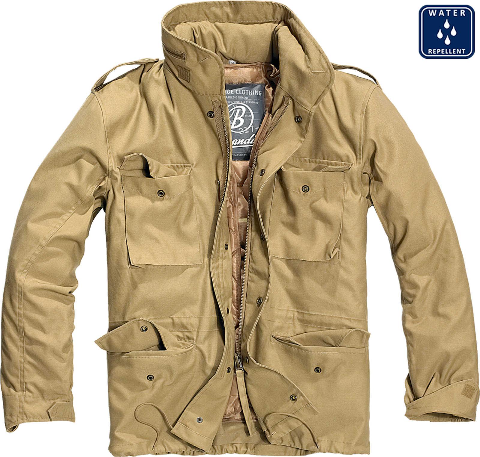 Details zu Brandit Herren M65 Standard 3108 Classic Feldjacke Outdoor Parka US Futter