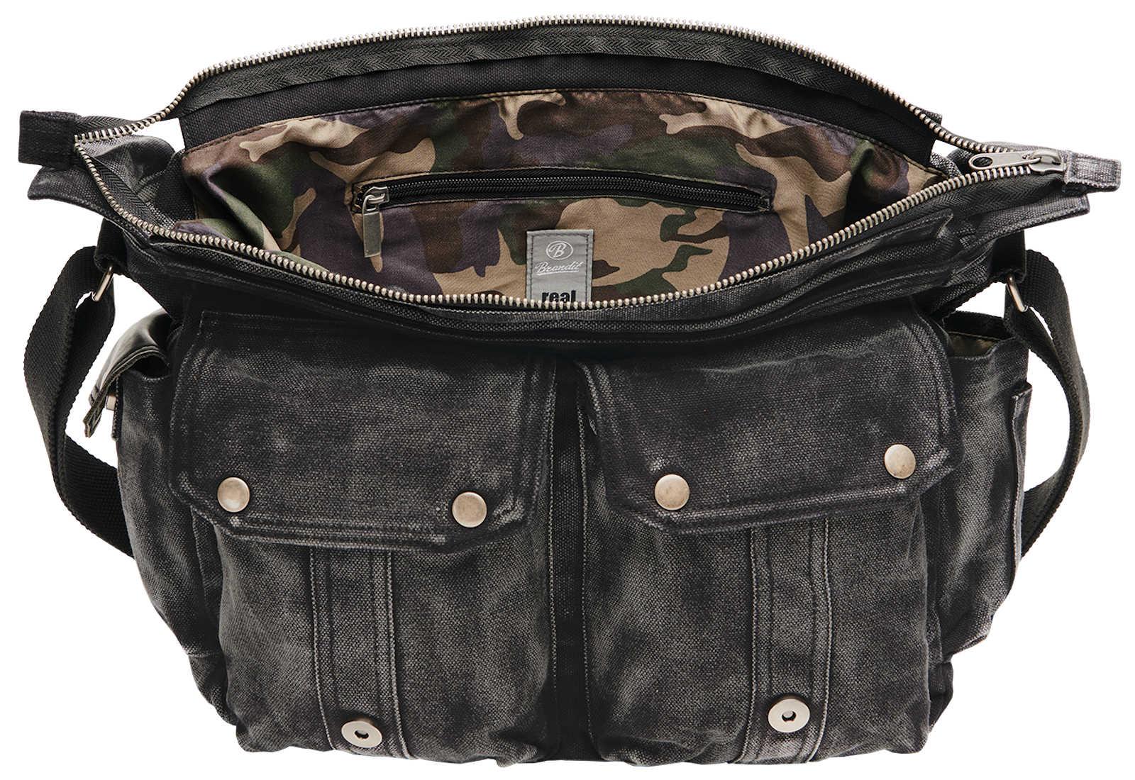 Brandit Hinsdale Vintage Bag 8033 Vintage Tasche Bag Tasche Vintage Umhängetasche ae7e6c