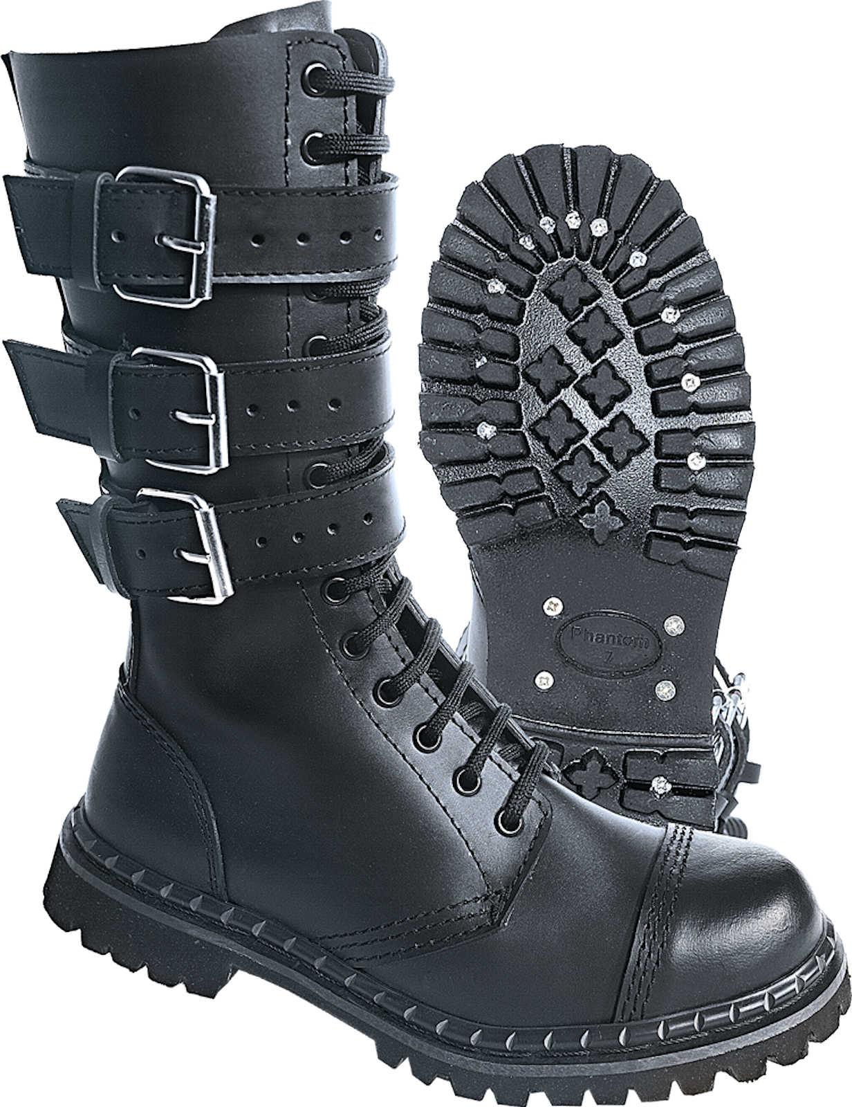 Brandit Phantom botas Buckle 9005 9005 9005 Gothic Stiefel Rangers Army Springerstiefel b647b7