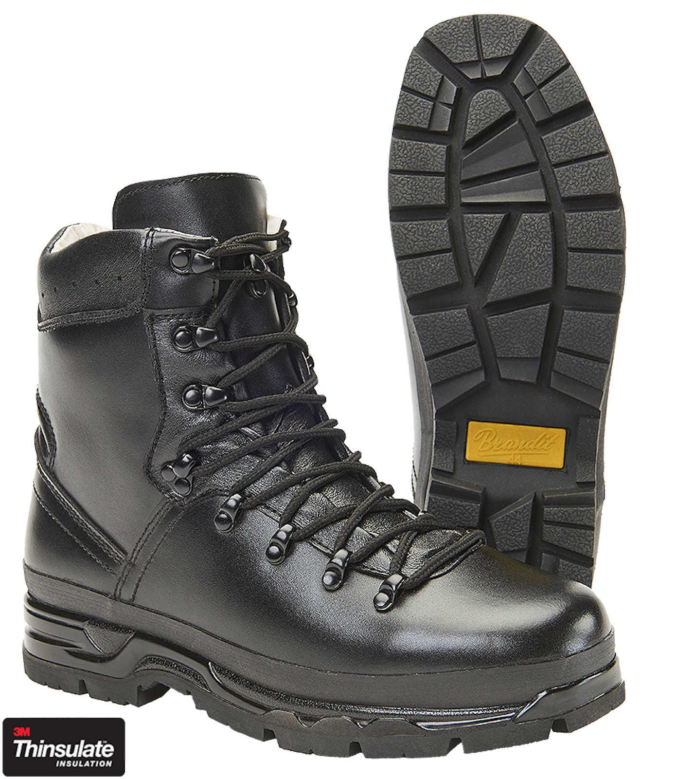 Brandit Herren Herren Brandit BW Bergschuh 9038 Stiefel Leder Wandern Taktische Outdoor Schuhe 2010f0