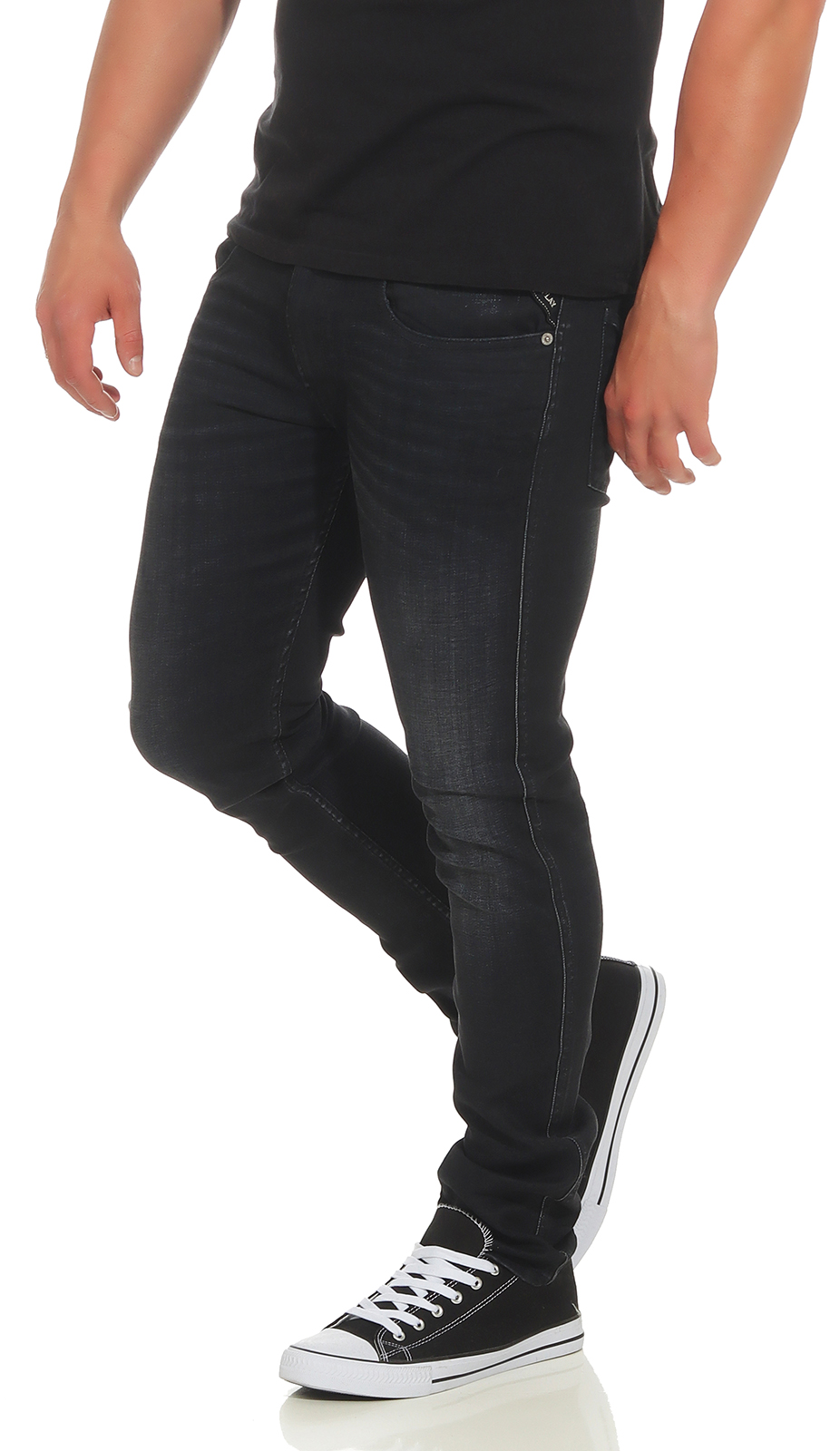 Stretch 000 Replay Slim Fit M914 Herrren 135 tubo Jeans Denim 385 Anbass qx4wRZx1