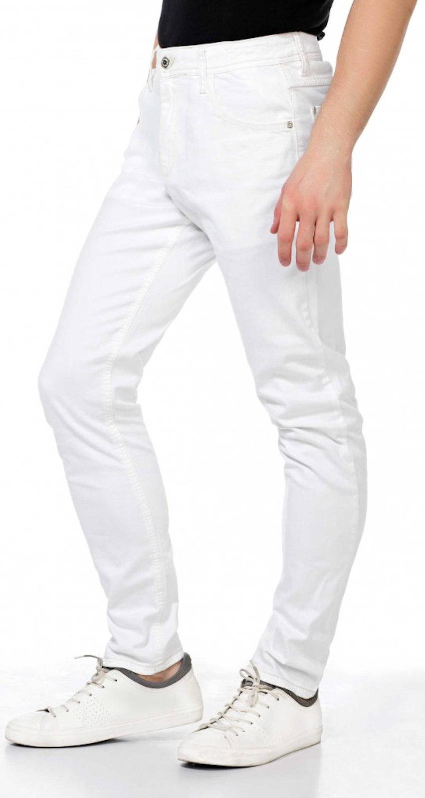CIPO-amp-BAXX-Herren-Jeans-CD319C-NEU-Hose-Slim-Fit-Enges-Bein-Denim-Stretch Indexbild 3