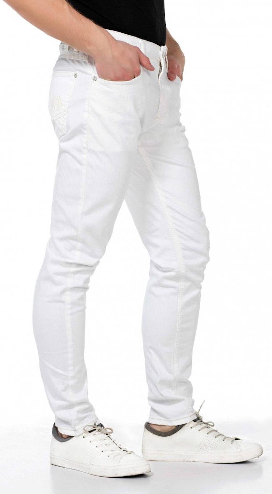 CIPO-amp-BAXX-Herren-Jeans-CD319C-NEU-Hose-Slim-Fit-Enges-Bein-Denim-Stretch Indexbild 4
