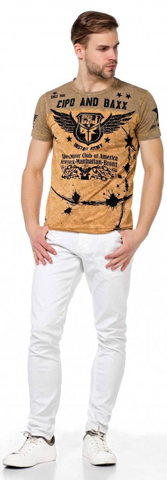CIPO-amp-BAXX-Herren-Jeans-CD319C-NEU-Hose-Slim-Fit-Enges-Bein-Denim-Stretch Indexbild 7