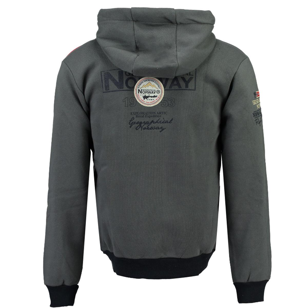 Geographical-Norway-giacca-uomo-autunno-inverno-S-fino-a-3xl-Felpa miniatura 3