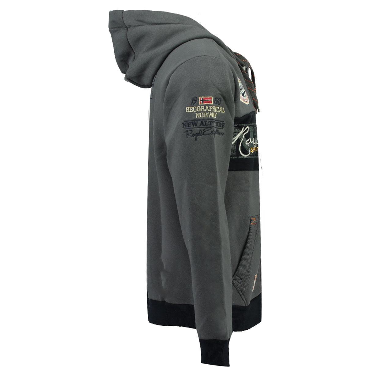 Geographical-Norway-giacca-uomo-autunno-inverno-S-fino-a-3xl-Felpa miniatura 4