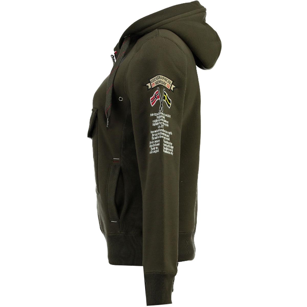 Geographical-Norway-giacca-uomo-autunno-inverno-S-fino-a-3xl-Felpa miniatura 10