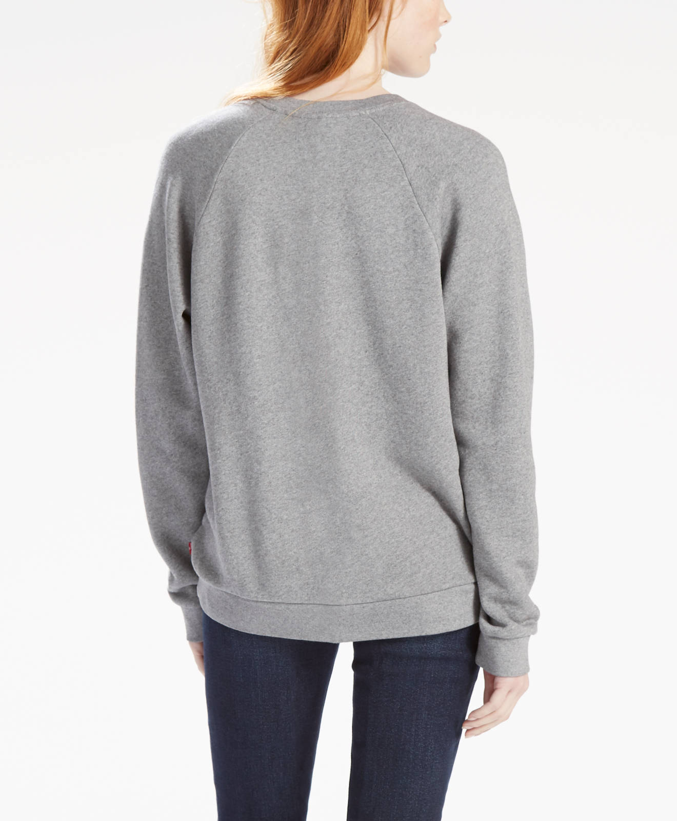 Levi-s-Damen-Pullover-Sweater-Sweatshirt-GRAPHIC-FLEECE-BATWING-SMOK-29717-000