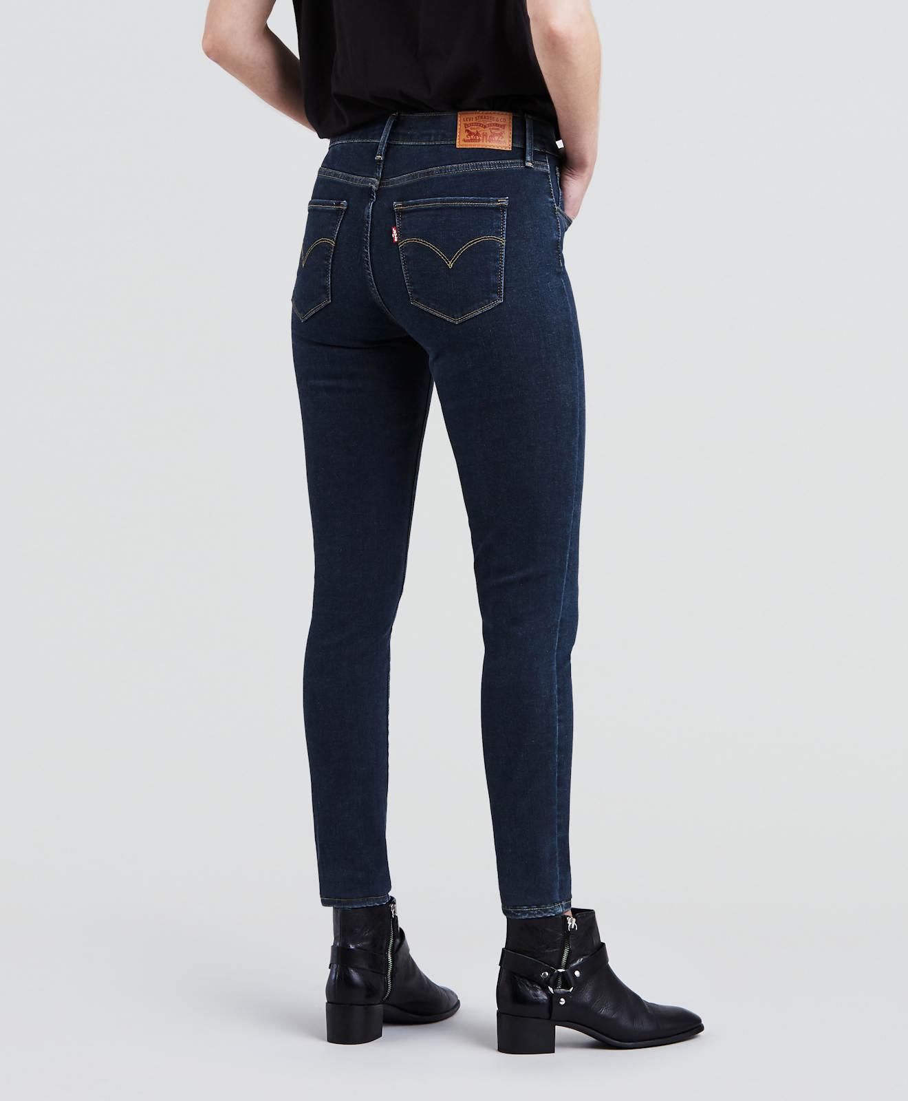 Jeans Vita Super 720 Essential Neu Damen Skinny Levi's ® alta Hose Blue Bw1qap