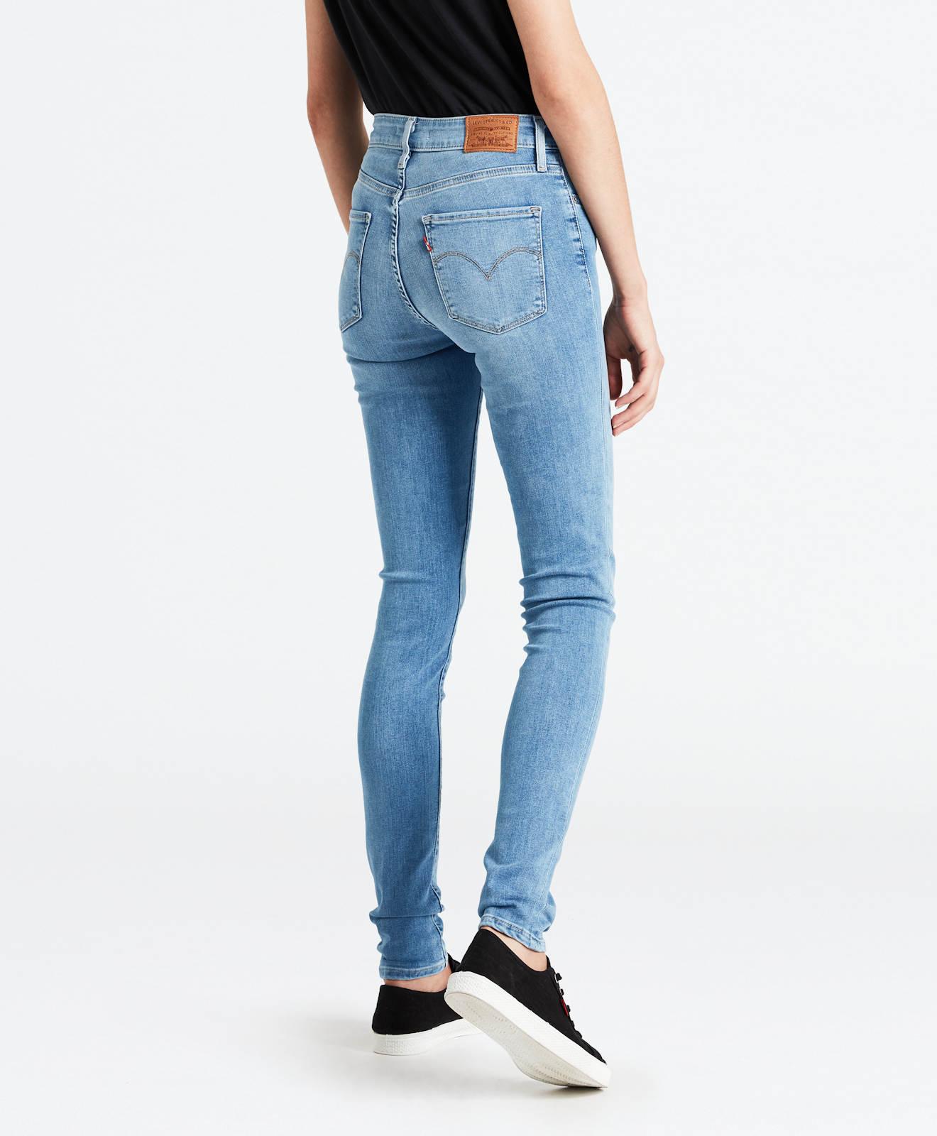 My Skinny Sunshine Levi's alta Hose vita Damen ® Jeans Original Steal a Neu 721 pPgZPv