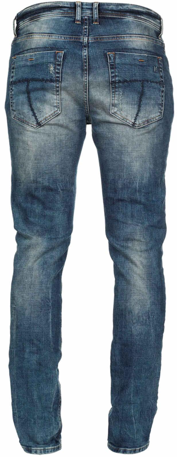 M-O-D-Herren-Jeans-Cornell-Slim-NOS-1003-Hose-Stretch-NEU-Slim-Fit-Leg-Denim-MOD Indexbild 3