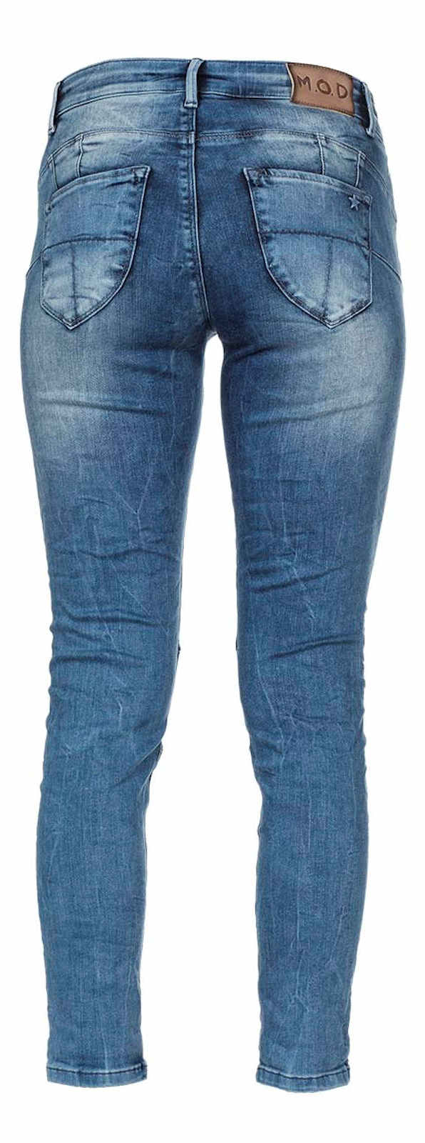 Hose Leg Damen M o Medium Hüft 2032 Nos Waist Skinny Jeans d Mod Eva RRfqFx