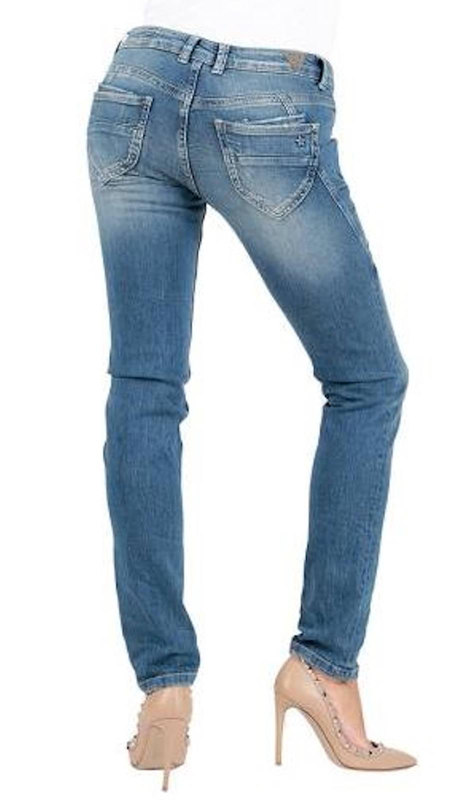 m o d damen jeans maria slim sp18 2021 h ft hose low waist. Black Bedroom Furniture Sets. Home Design Ideas