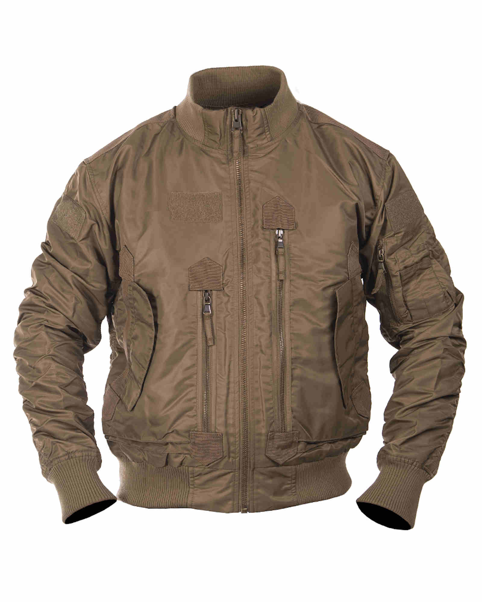 Mil-Tec US TACTICAL FLIEGERJACKE OLIV Outdoorjacke Jacke