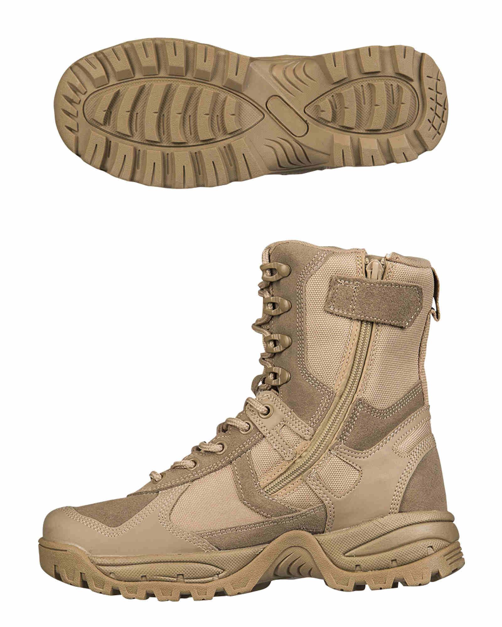 One zip Coyote Mil tec Stiefel Patrol Schuhe IpFwwXzqx