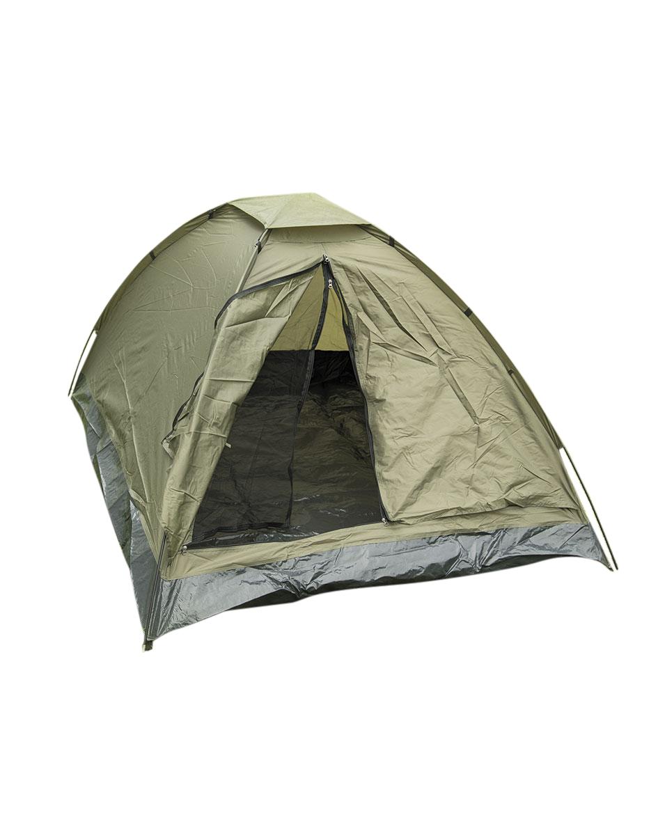 Mil-Tec-ZWEIMANNZELT-IGLU-STANDARD-OLIV-Zelt-Outdoor-Camping Indexbild 3