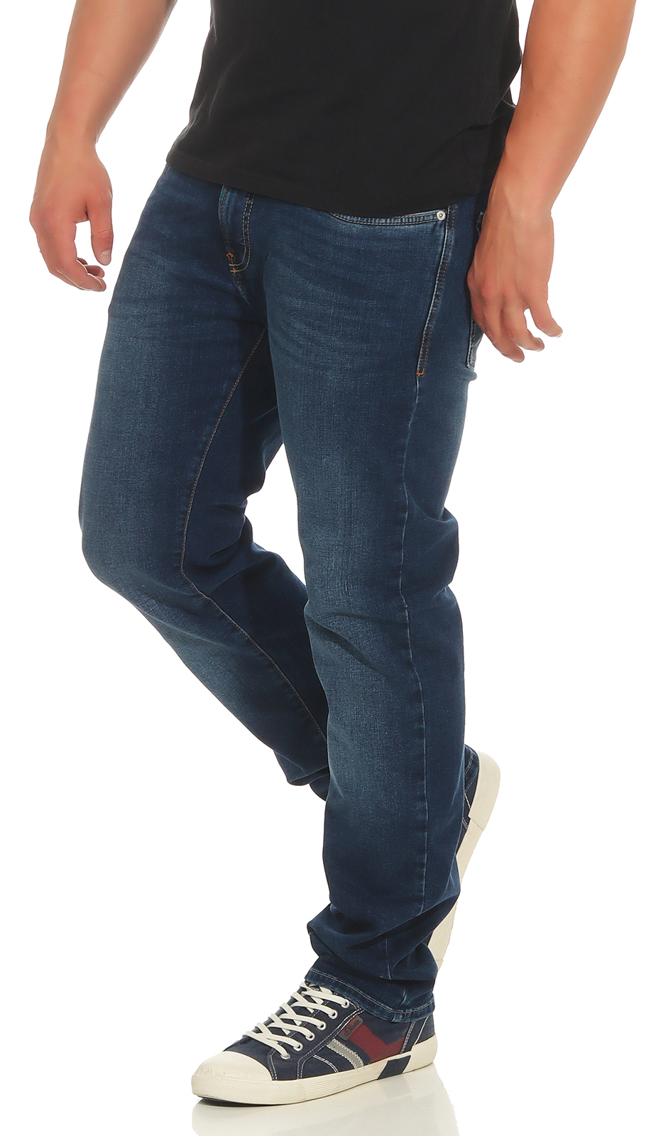 PIERRE-CARDIN-Herren-Jeans-Lyon-Hose-Tapered-Future-Flex-Super-Stretch-Premium-3 Indexbild 7
