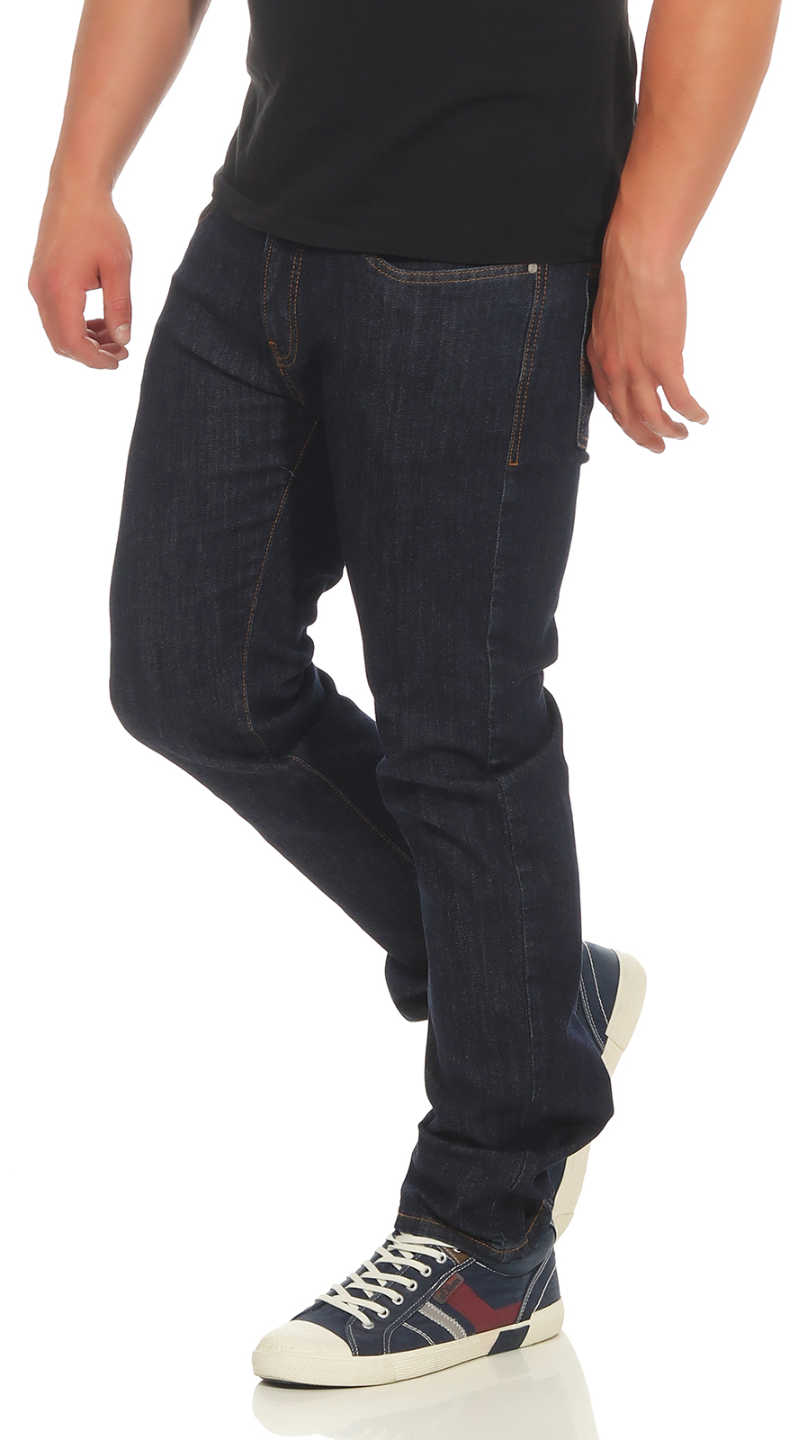 PIERRE-CARDIN-Herren-Jeans-Lyon-Hose-Tapered-Future-Flex-Super-Stretch-Premium-3 Indexbild 3