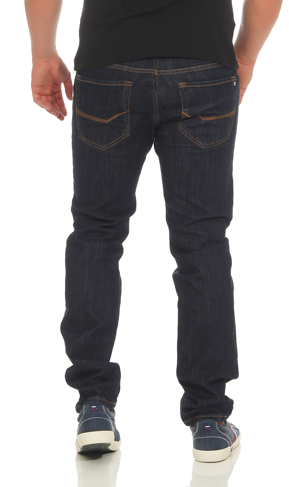 PIERRE-CARDIN-Herren-Jeans-Lyon-Hose-Tapered-Future-Flex-Super-Stretch-Premium-3 Indexbild 4