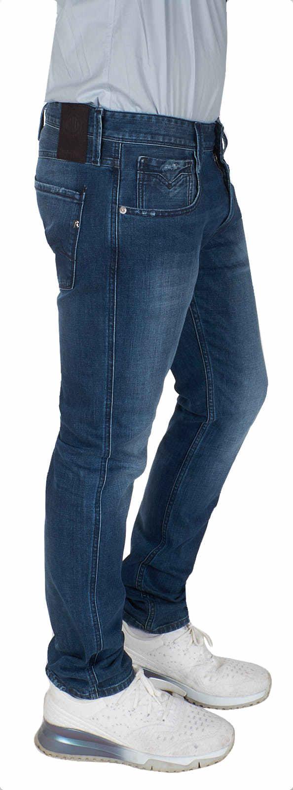 REPLAY-Jeans-Herrren-Anbass-Slim-Fit-Stretch-Hose-Denim-M914Y-000-31D-133