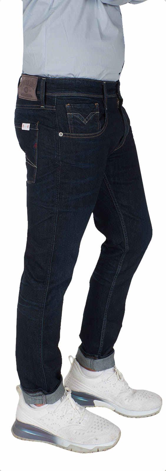 REPLAY Jeans Herrren Anbass Slim Fit Pantalon Stretch Denim m914y.000.573.320