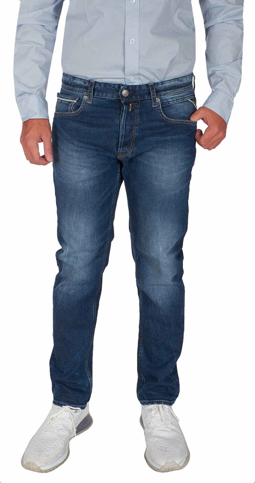 REPLAY-Jeans-Herrren-Grover-Straight-Fit-Stretch-Hose-Denim-MA972-000-93C-334
