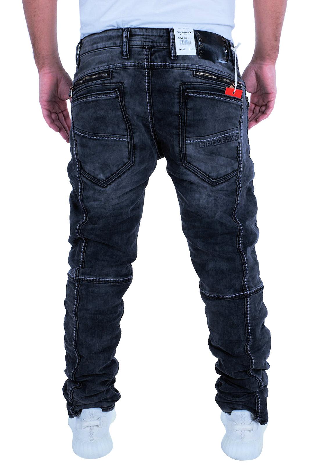Clubwear Droite Couturespaisses Pants Cd288 Denim Cube Cipo Jeans Hommes Cd2 Baxx qxB4tf87