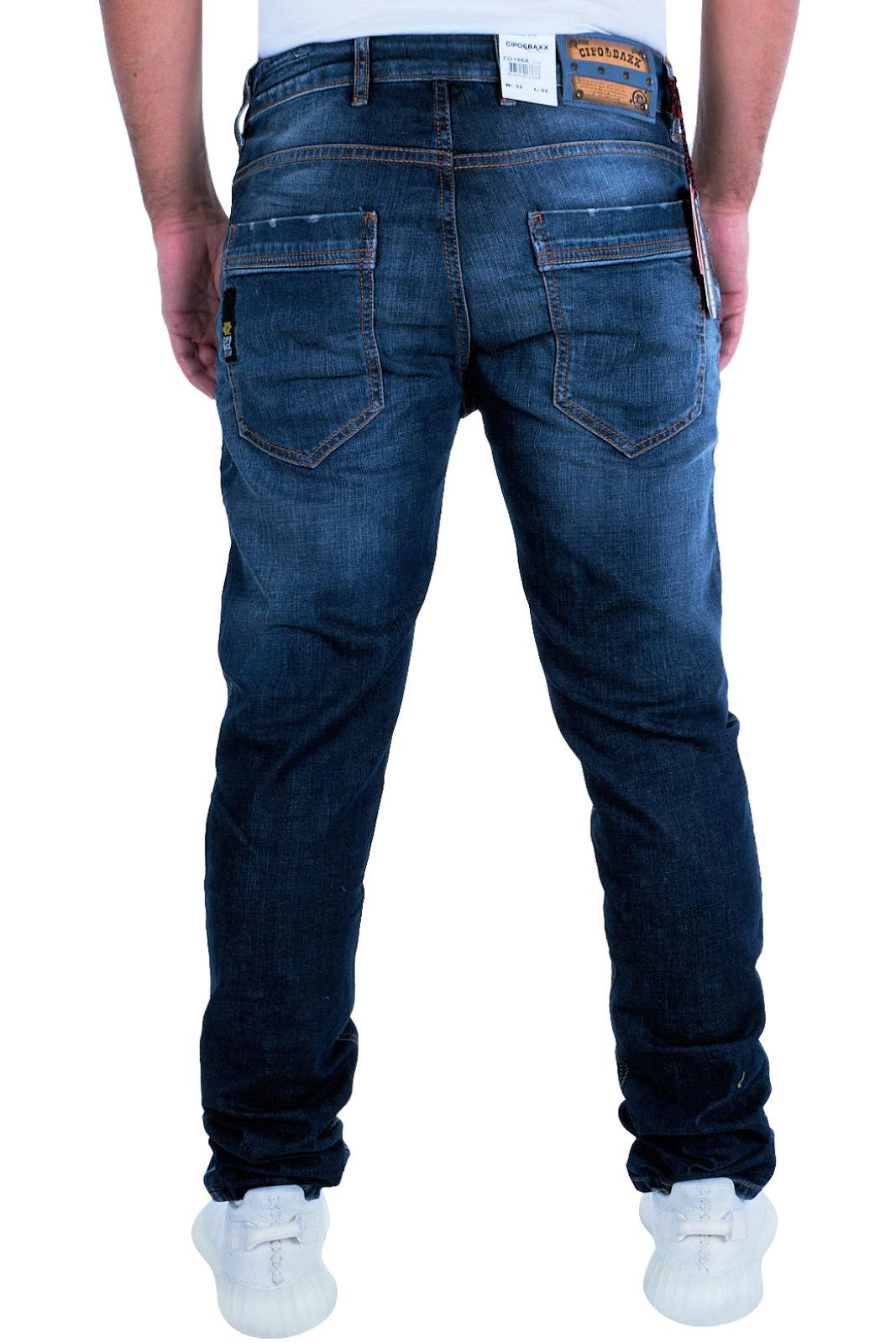 Cd186a Biker Herren Denim Jeans Cipo slimfit Clubwear Baxx Hose HqY0Pw7