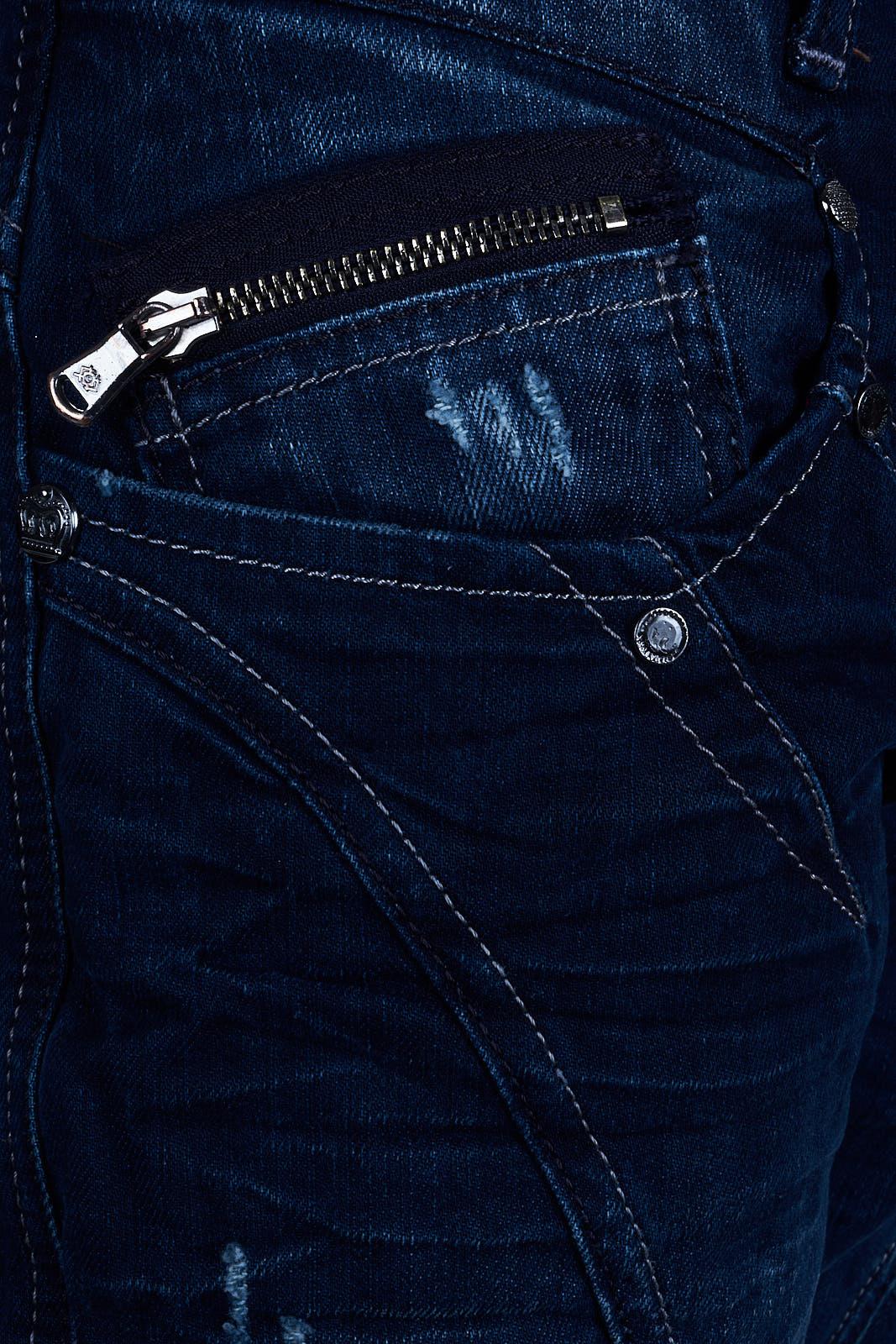 Cipo-amp-Baxx-Mens-Jeans-Clubwear-Denim-Trousers-c-0768-Straight-Designer-New-C-0768 thumbnail 4