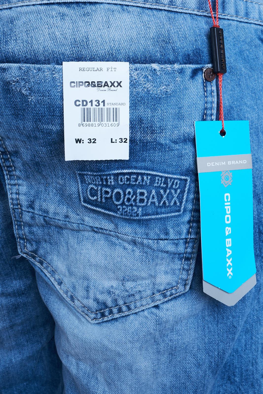 CIPO & BAXX BAXX BAXX Herren Jeans Clubwear Denim Hose CD131 Destroyed Premium Designer CD 35af5a