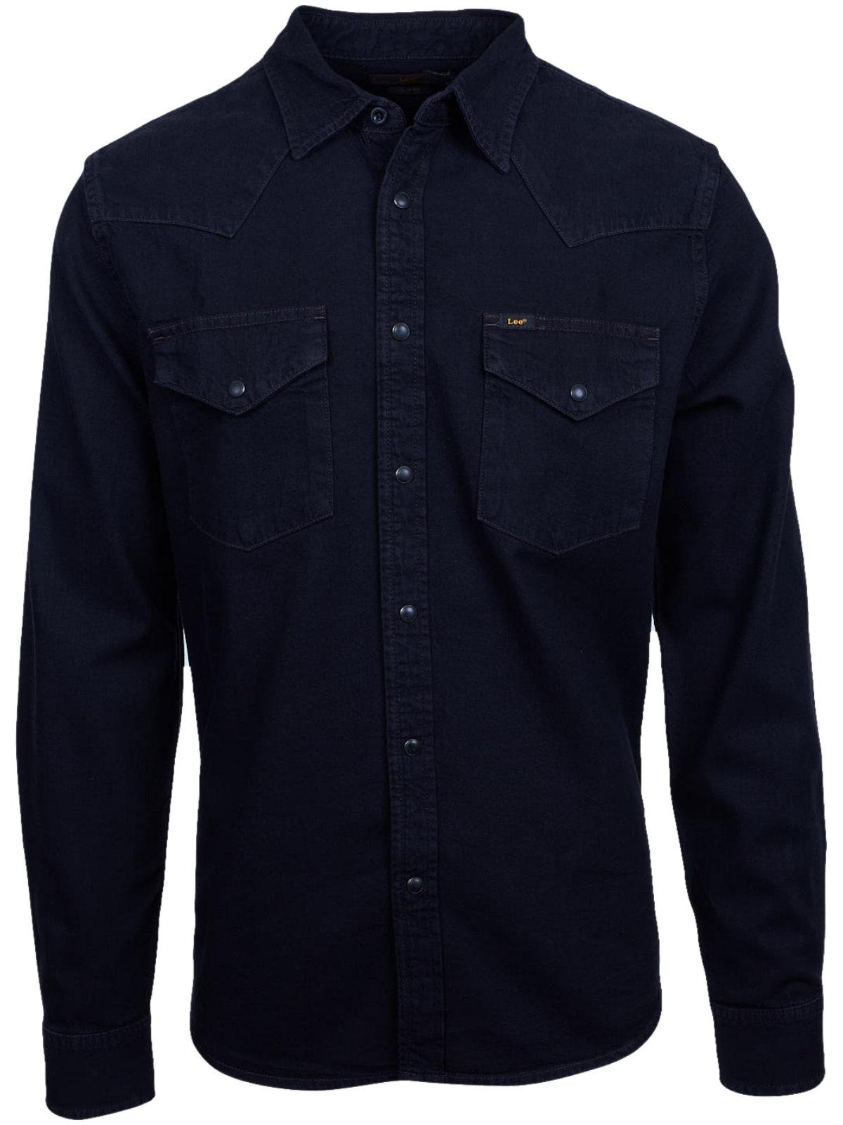 lee slim jeanshemd westernshirt herren hemd arbeits neu l643 ebay. Black Bedroom Furniture Sets. Home Design Ideas