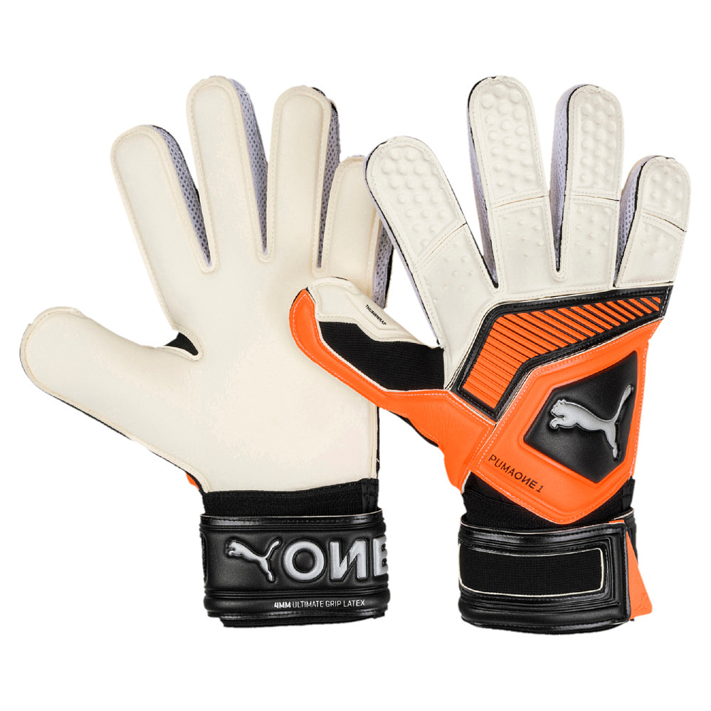 Puma Unisex Herren Damen Torwarthandschuhe Goalkeeper Gloves One Grip 1 RC