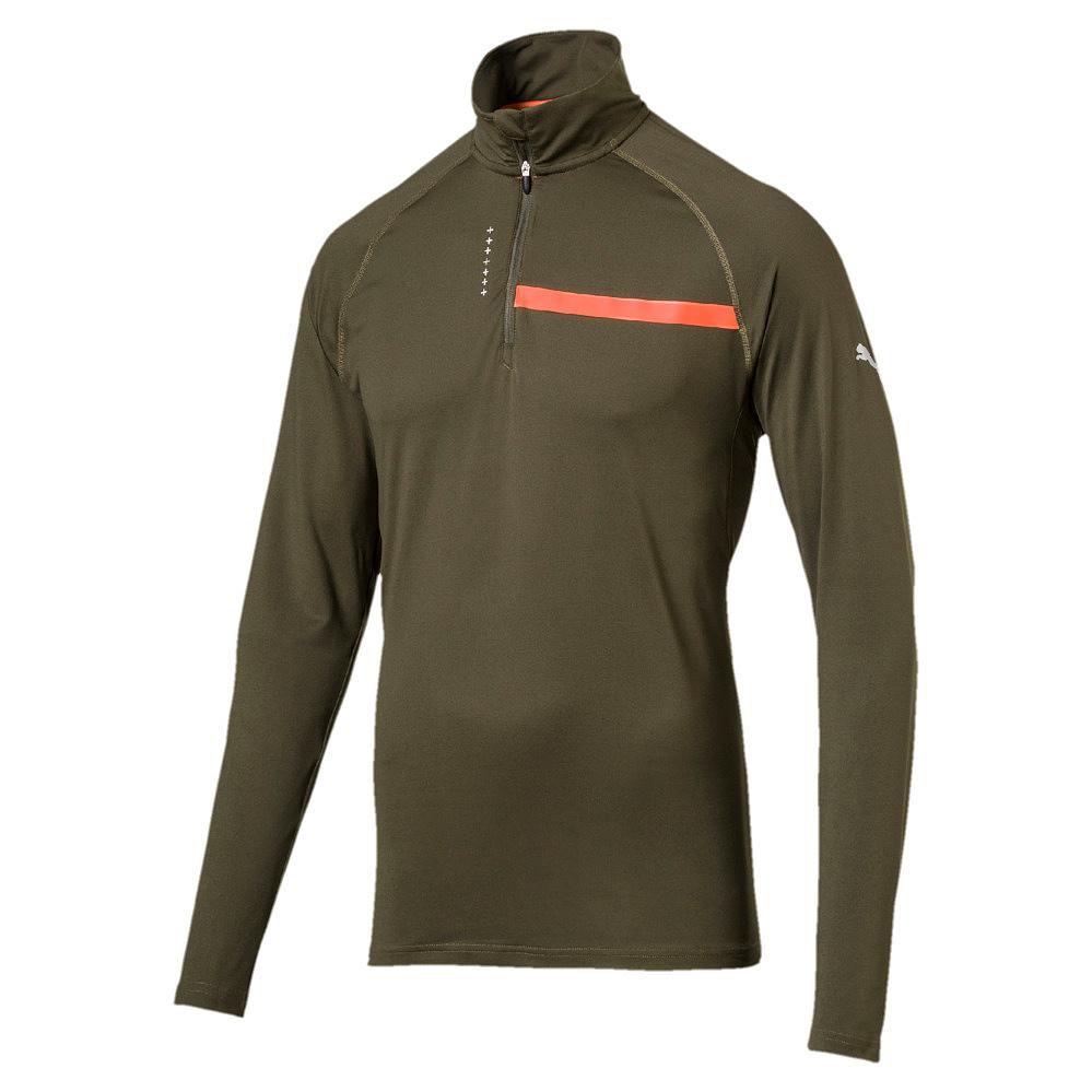 Puma Herren Pullover Sweat Sweatshirt  Pullover Ignite HalfZip Top