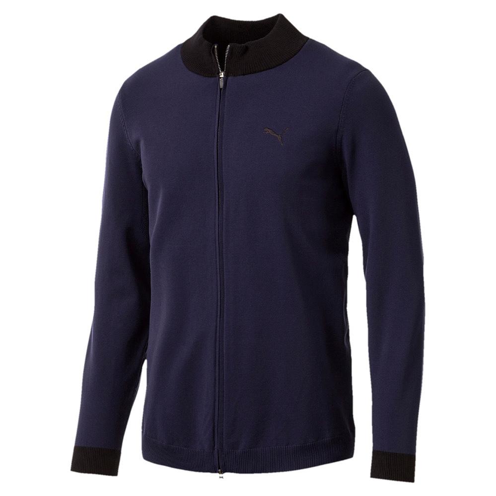 Puma Herren Pullover Sweat Sweatshirt  Pullover Evoknit Wind Sweater