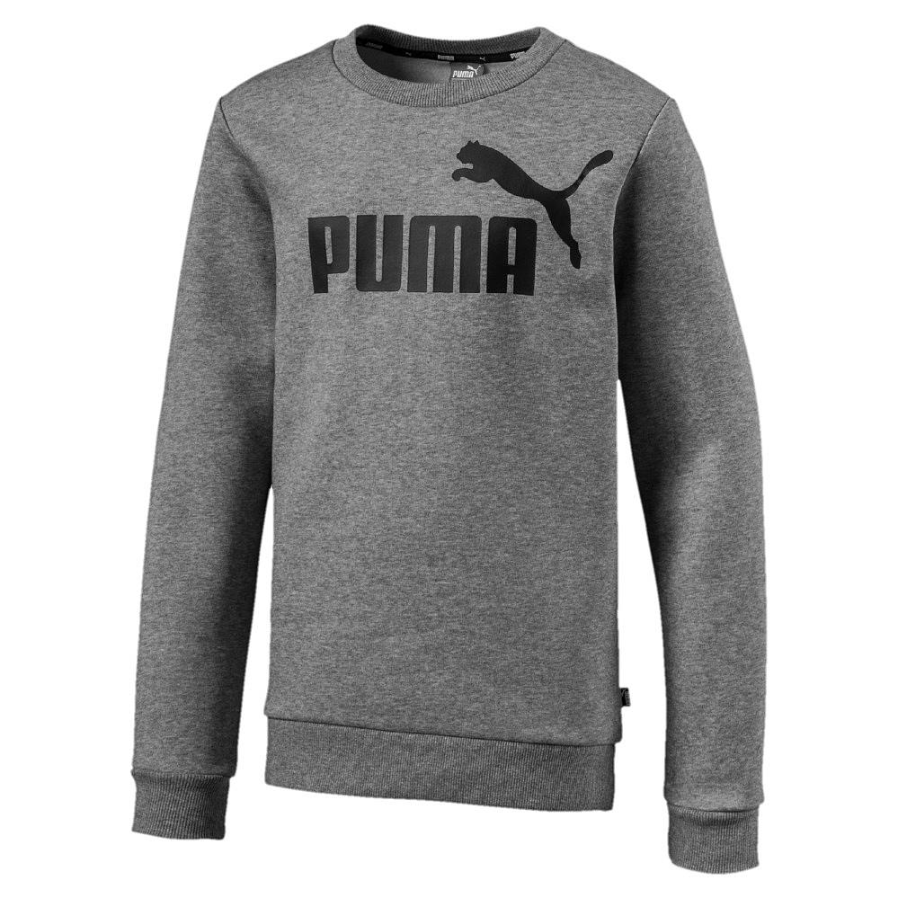 Puma-Kinder-Pullover-Sweat-Sweatshirt-Pullover-ESS-Logo-Crew-Sweat-FL-B